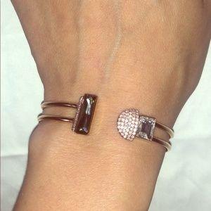 Swarovski brand rose gold bracelet